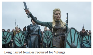 Viking extras needed